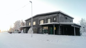Kiruna. Swedens most northern Passive house, built by NCC. Photographer: Joanna Redman/NCC