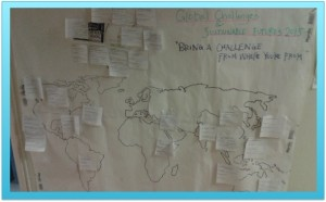 CEMUS students identified some challenges in the world.... Photo: AnnVixen