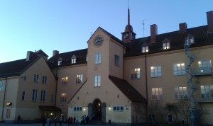 Enskede School by sunrise. Photo: AnnVixen