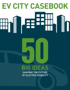 Urban Foresights 50 big ideas on the future of electric mobility.