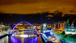 The Millenium bridge of Newcastle on Tyne. Photo: David Thomson