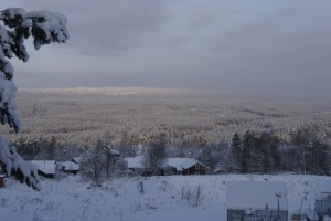 The view of the vastness of Orsa Finnmark from the village of Skattungbyn. Photo: Agata Mazgaj