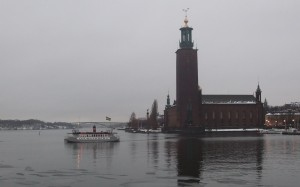 The new commuter ferry of Stockholm! Photo: AnnVixen