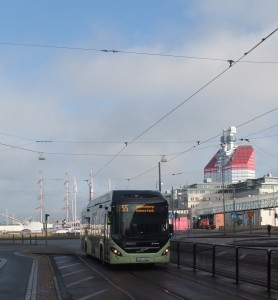 The City of Gothenburg, Volvo Cars and buses, Autoliv, the Swedish Traffic Autorities are cooperating in different constelations to enhance traffic of the future. Photo: AnnVixen
