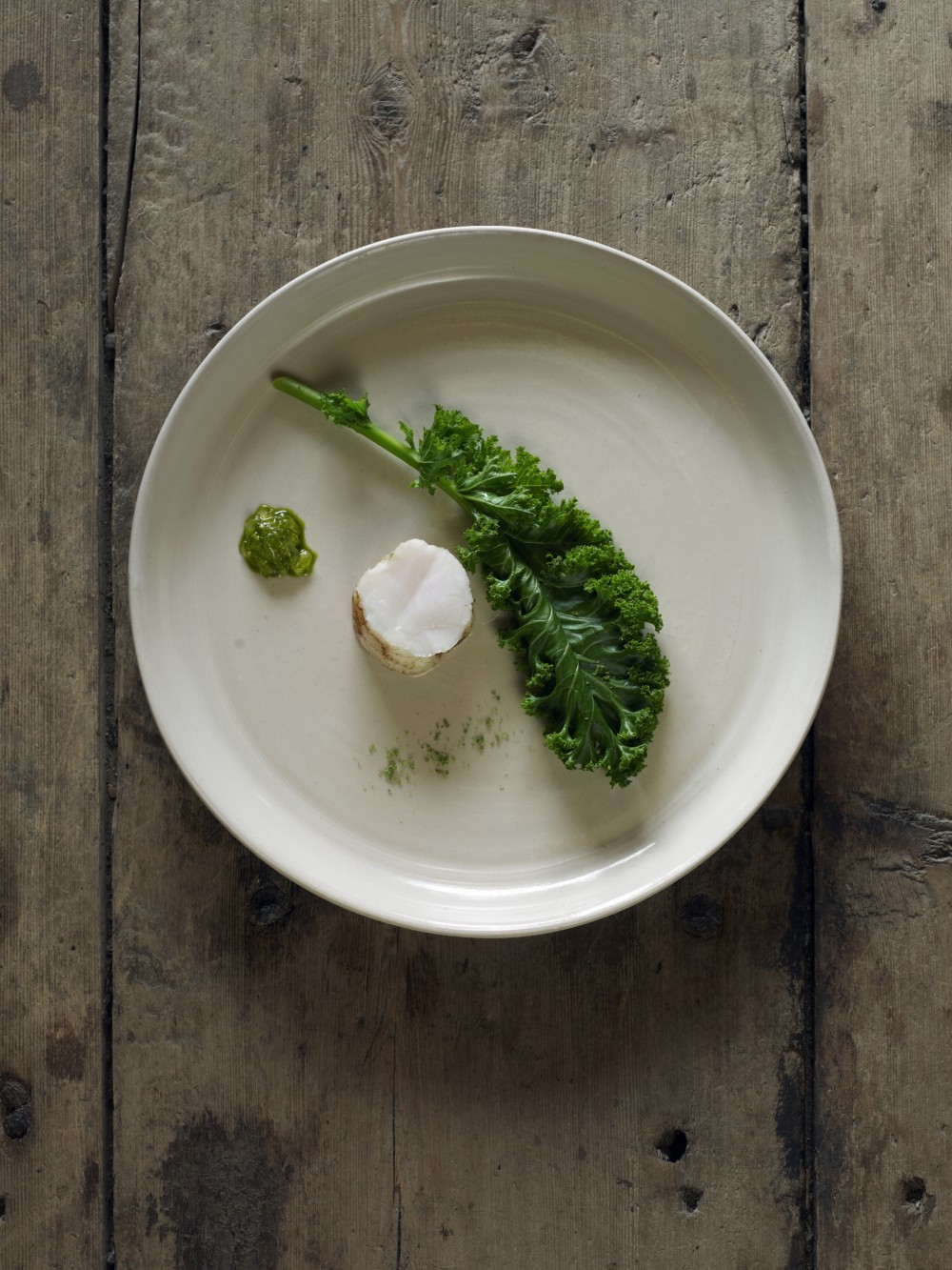 One of the twenty five courses in a meal at Faviken. Photo: Fäviken TellusThinkTank.com